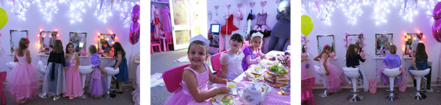 Girls Princess Parties Bromsgrove